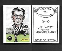 Newcastle United Joe Harvey 15 (FC)